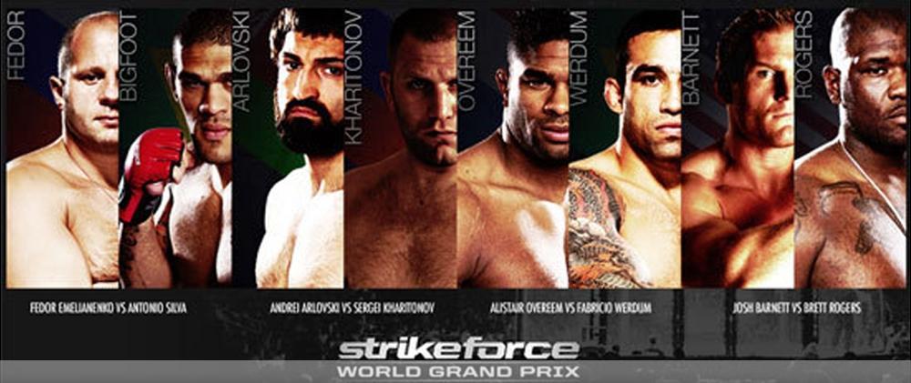 Deltagare på Strikeforce Heavyweight grand prix