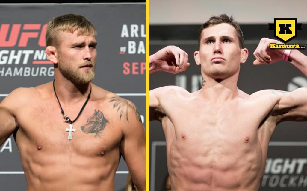 Darren Till Alexander Gustafsson UFC