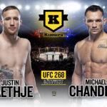 Michael Chandler vs Justin Gaethje