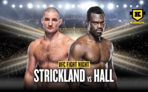 Uriah Hall vs Sean Strickland