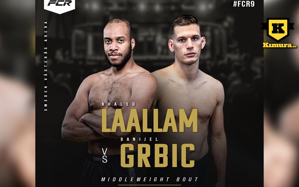 Poster för Khaled Laallam vs. Danijel Grbic på FCR 9