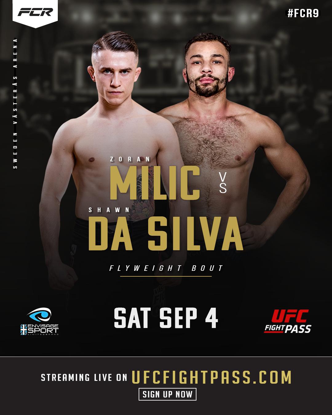 Zoran Milic Shawn Da Silva Poster FCR9