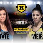 Miesha Tate vs Katlen Vieira