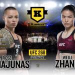 Rose Namajunas vs Weili Zhang 2