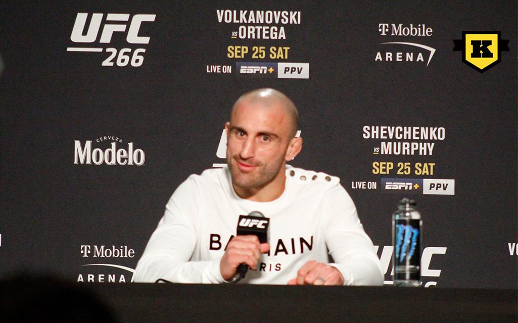 Alexander Volkanovski inför UFC 266
