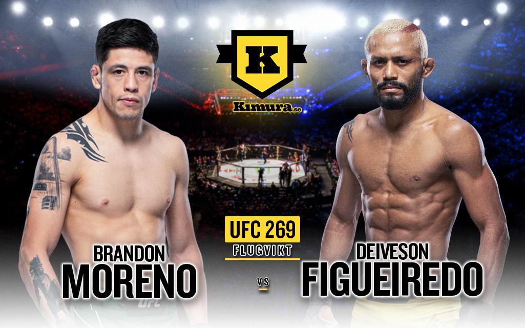 Brandon Moreno vs Deiveson Figueiredo