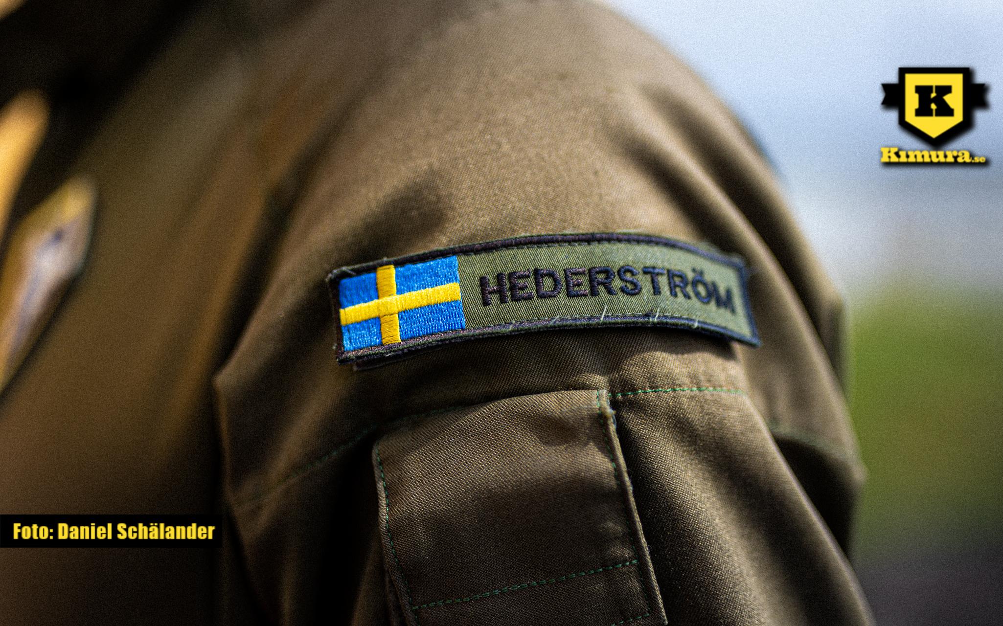 Max Hederströms uniform