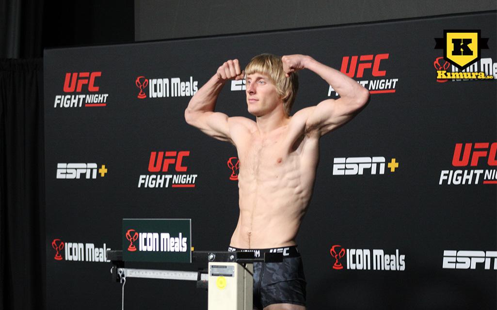 Paddy Pimblett UFC Vegas 36