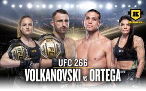 UFC 266 Alexander Volkanovski Brian Ortega