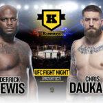 Derrick Lewis vs Chris Daukaus