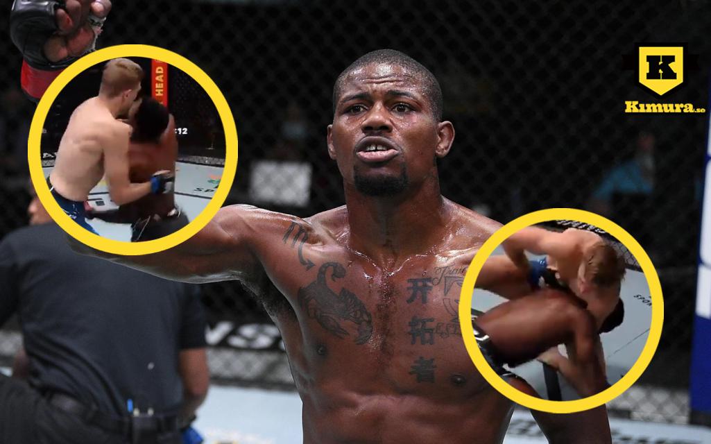 UFC Kevin Holland Kyle Daukaus